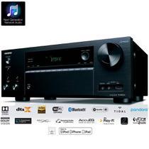 Receiver Onkyo TX-NR676 7.2ch 4K Wifi Bluetooth AirPlay Spotify Dolby Atmos DTS:X Zona 2 110v -