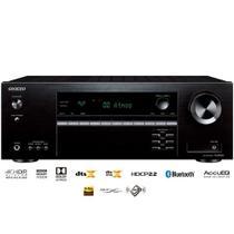 Receiver Onkyo TX-SR393 5.2 Canais Bluetooth Dolby Atmos 4K HDR Zona B 110V -