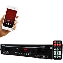Receiver Orion Slim 1002 Bluetooth Mic Sd Aux 2 Canais 40w -