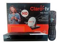 Receptor claro tv pré-pago hd c/lnb ku -