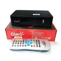 receptor claro tv pré-pago recarga 100% digital - Visiontec