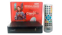 receptor claro tv pré-pago recarga - Visiontec
