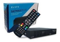 Receptor de Tv Digital Via Satelite Satmax Plus Full Hd Sinal Sat Hd Regional Etrs55 - Elsys -