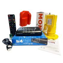Receptor Digital Midia Box B4 Century Lnbf Monoponto e Capa -