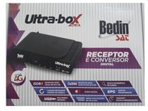 Receptor E Conversor Digital Ultra Box Full HD USB 2.0 - Bedin Sat
