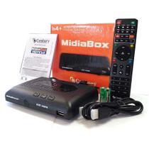 Receptor Midiabox B4+ Century Hd Digital Conversor Midia b4+ -
