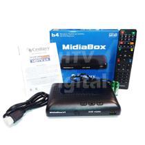 Receptor Midiabox B4 Century Hd Digital Substitui Midia B3 Z -
