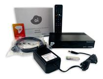 Receptor OI TV Livre Digital  DSI74 HD via Satélite -