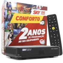 Receptor SKY HD Conforto 24 meses sem mensalidade com Globo e SBT -