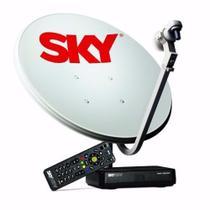 Receptor Sky Pré Pago Flex HD + Kit Antena 60 cm. - Sky Pre Pago