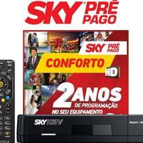 Receptor Sky Pré Pago Flex HD Livre 24 Meses -