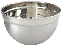 Recipiente Bowl Inox Grande p/ Uso Culinário 26 cm - Utifácil