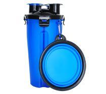 Recipiente para Armazenar Ração e Água com Pote Retrátil - Dd Group