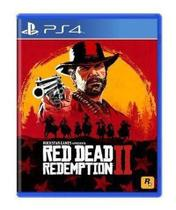 Red Dead Redemption 2 - PS4 Mídia Física - Rockstar Games