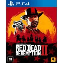 Red dead redemption 2 ps4 playstation 4 rdr 2 mídia física - Rockstar Games