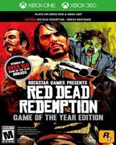 Red Dead Redemption Edição Jogo Do Ano Goty - Xbox 360 - Xbox One - Rock Star Games