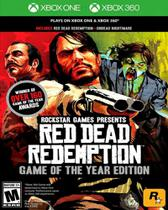 Red Dead Redemption Edição Jogo Do Ano Goty - Xbox 360 - Xbox One - Rockstar Games