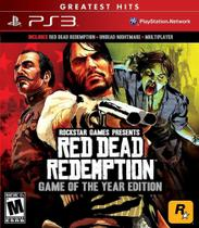 Red Dead Redemption Game Of The Year Edition - Ps3 - Sony