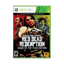 Red Dead Redemption: Game of The Year Edition - Xbox 360 - Jogo