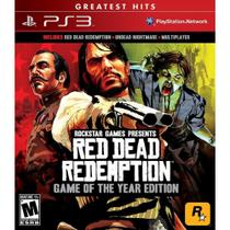 Red Dead Redemption: Game Of The Year Greatest Hits - Ps3 - Sony