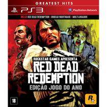 Red Dead Redemption: Game Of The Year - Ps3 - Rockstar Games