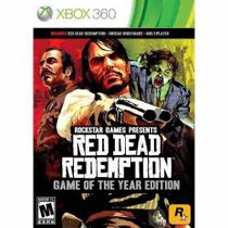Red Dead Redemption Game Of The Year Xbox 360 Midia Fisica - Xbox360