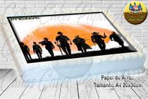 Red Dead Redemption II Papel De Arroz Comestível P/ Bolo A4 20x30cm MOD.02 - Papel Arroz .Com.Br