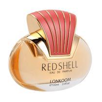 Red Shell eau de parfum 100ml Lonkoom Perfume Feminino Original -