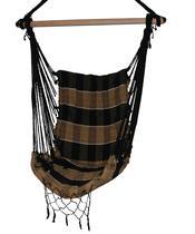 Rede Cadeira Balanço Estofada Luxo Artesanal Dormir Descanso  - Creme - Vanaildo