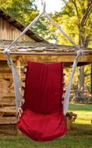 rede cadeira com espuma a arte manual -