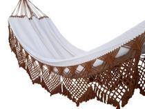 Rede De Descanso Dormir Casal Buxo De Boi Varias Cores Lojão Textil - Lojao textil
