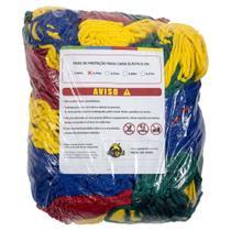 Rede de Proteção Colorida Canguri para Cama Elástica de 2,44/2,50 m -
