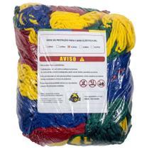 Rede de Proteção Colorida Canguri para Cama Elástica de 3,05/3,10 m -