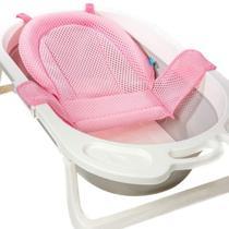 Rede de Proteção Rosa para Banheira Infantil - Buba