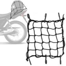 Rede Elástica Aranha para moto 42X42 - Ms Extensor