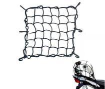 Rede Elástica Aranha Preta Capacete Pequena 35cm x 35cm - RE0320 - Piraval