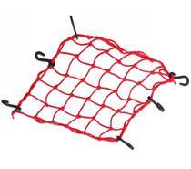 Rede Elastica P/ Capacete Vermelha 35x35 Aranha RE 0327 - Piraval