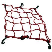 Rede elastica p/capacete vermelho 35x35 (aranha) - Ms Extensor