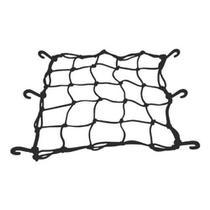 Rede Elástica Para Capacete/Bagageiro 35x35cm Preto -  Worker -
