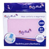 Redinha Para Banheira Baby Bath Rosa B21411 -