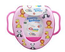 Redutor de assento com alca vaso sanitário infantil bebe pf - Pais E Filhos