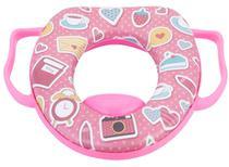 Redutor de assento infantil - petita -  rosa -