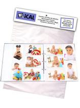 Refil 100 Fotos Mega Album Ical R34 - 10 Folhas Para Fotos 100 Fotos 10x15 -