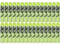 Refil 30 dardos nerf n-strike elite zombie strike  hasbro -