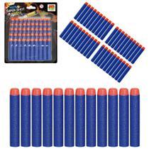 Refil 50 Dardos - Super Shot DMT5349 - DM Toys -