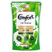 Refil Amaciante de Roupa Comfort Concentrado Detox Intense 900ml -