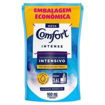Refil Amaciante de Roupa Comfort Concentrado Intensivo Intense 900ml -