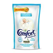 Refil Amaciante de Roupa Comfort Concentrado Puro Cuidado Intense 900ml -