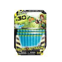 Refil - Bug Attack - Pack com 30 Dardos - Candide -