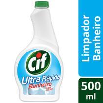 Refil Cif Ultra Rapido Banheiro sem Cloro 500ml -